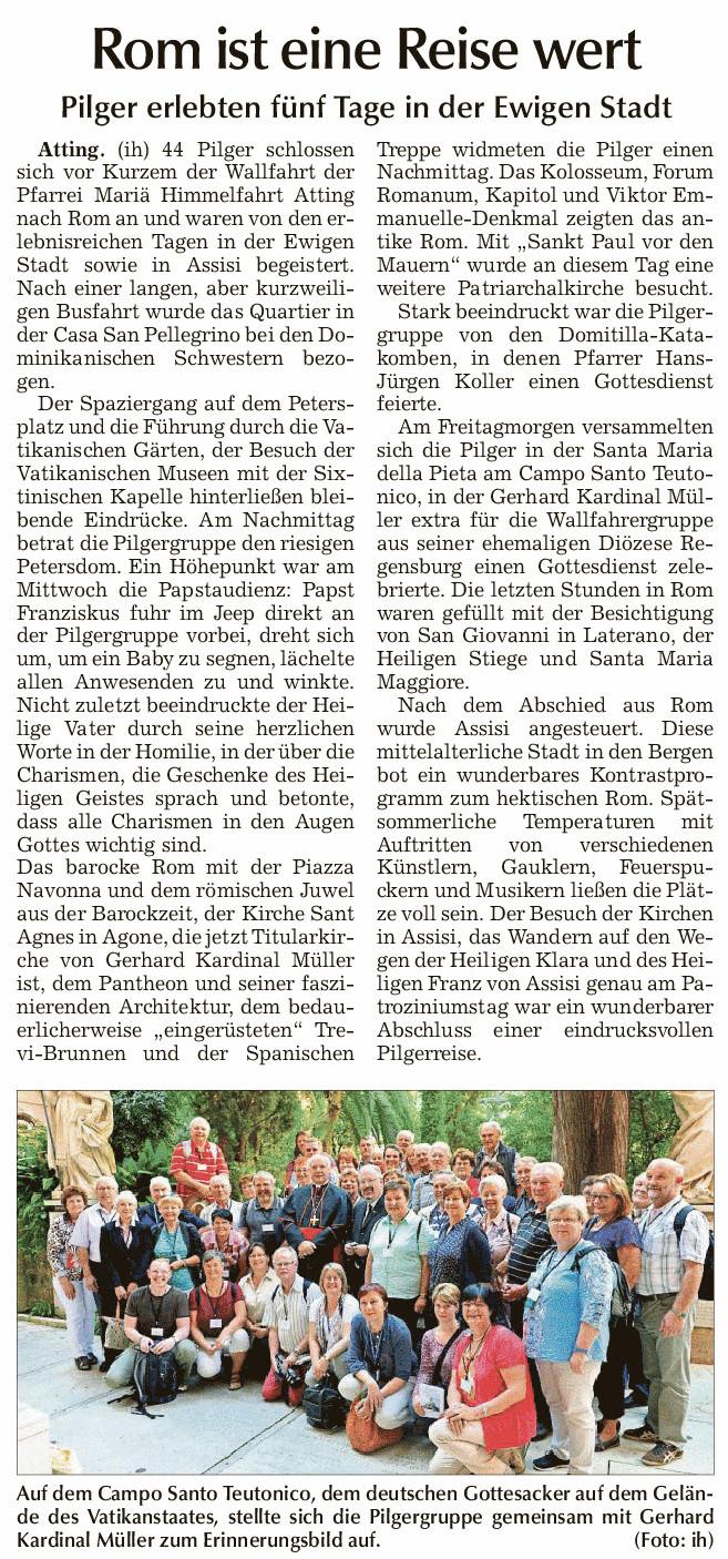 presseartikel_pilgerreise_nach_rom_sr_tagblatt