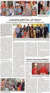 presseartikel_kiga_einweihung_und_antenring_vorankündigung_sr_tagblatt