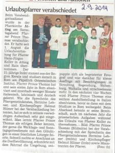 presseartikel_pfarrgemeinderat_verabschiedet_Urlaubsvertretung