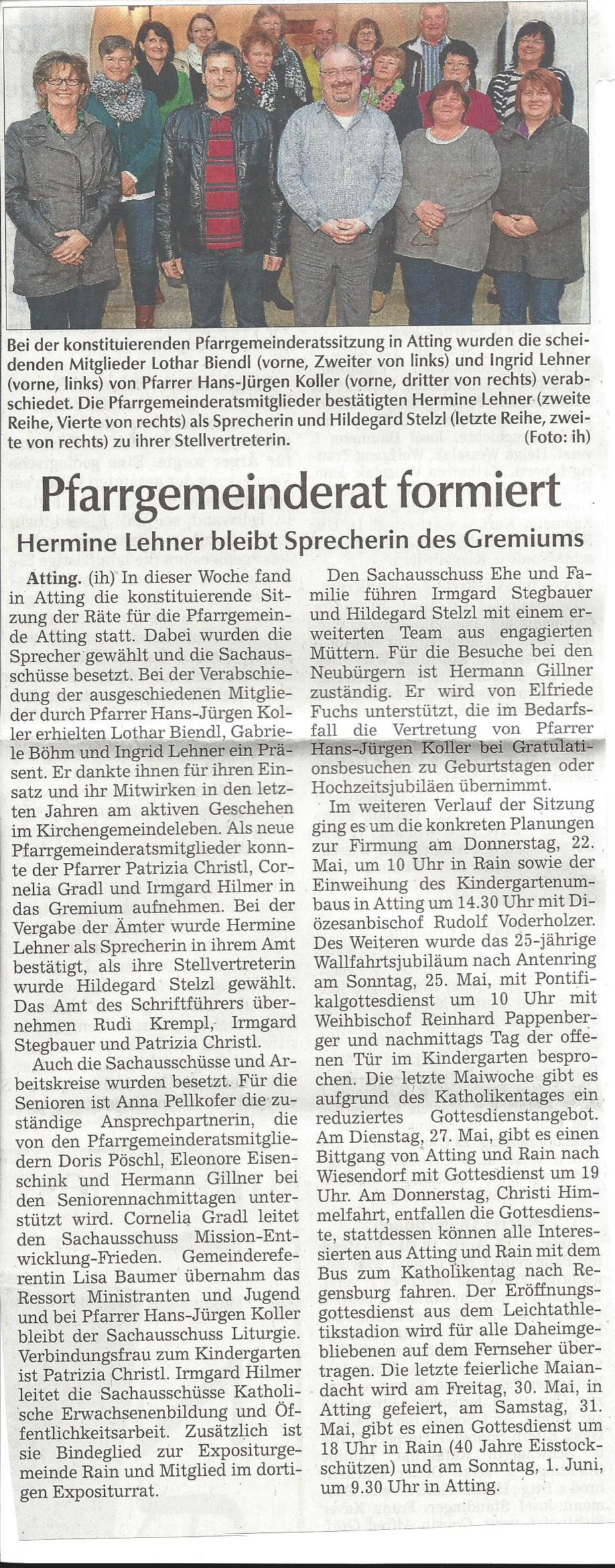 presseartikel_pfarrgemeinderat_hat_sich_formiert