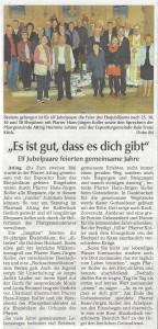 presseartikel_pfarrgemeinderat_feiert_ehejubilare