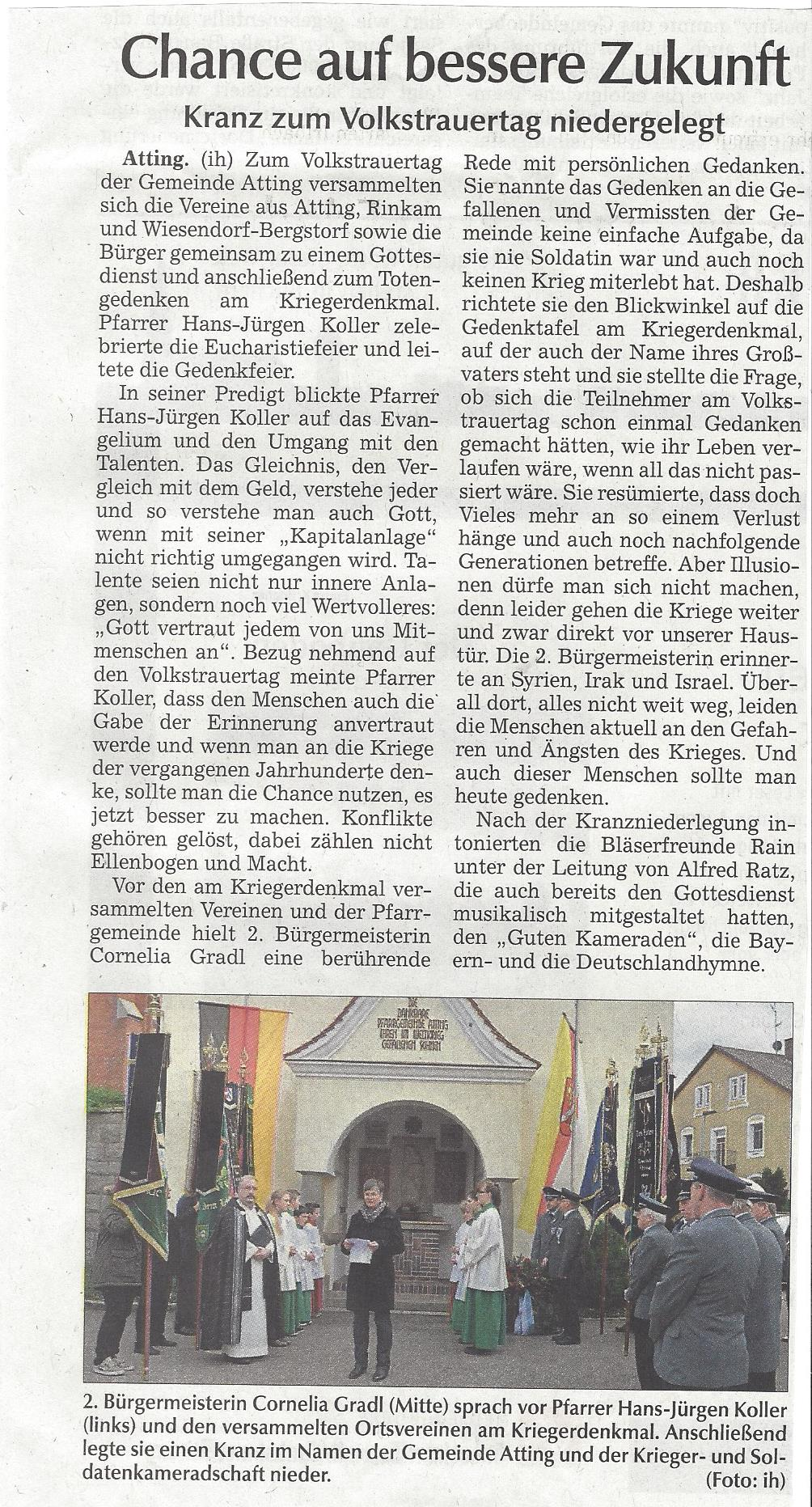 presseartikel_pfarrgemeinde_begeht_volkstrauertag_mit_gemeinde