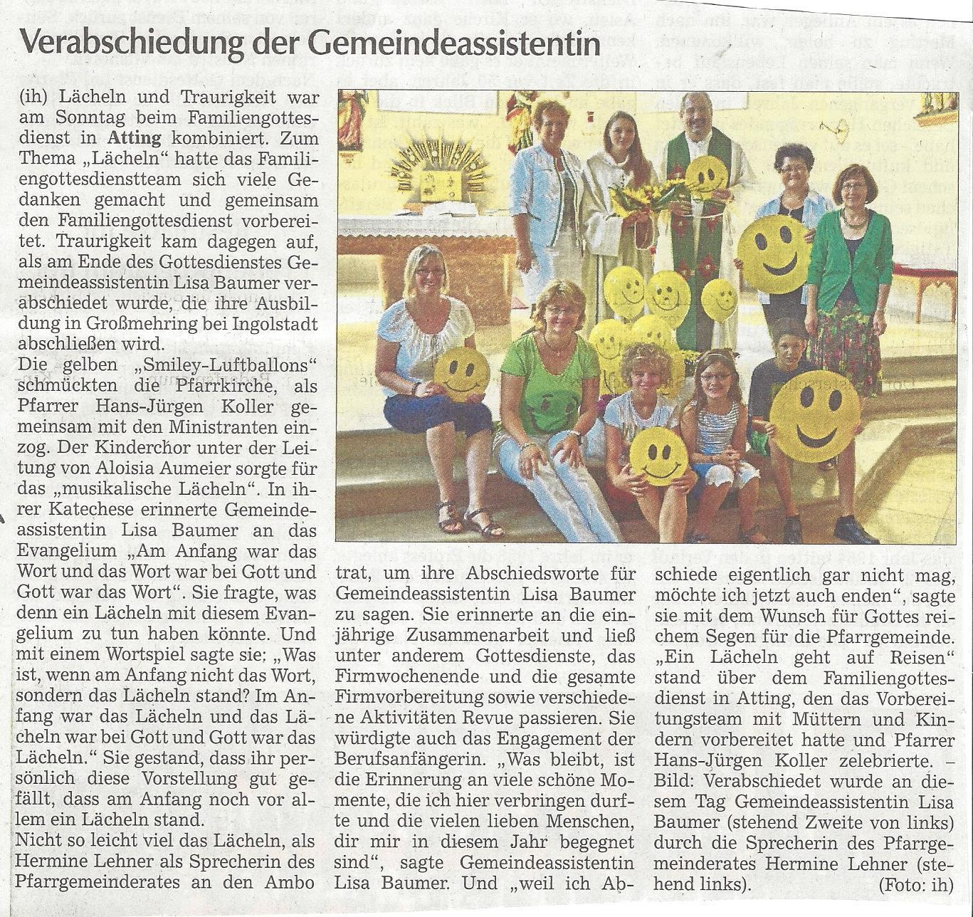 presseartikel_verabschiedung_gemeindeassistentin_lisa_baumer