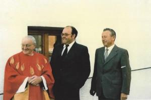 Begrüßung des Bischofs in Atting 27-Juni 1985