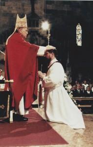 Priesterweihe Pfarrer Koller, Handauflegung - Juli 1997