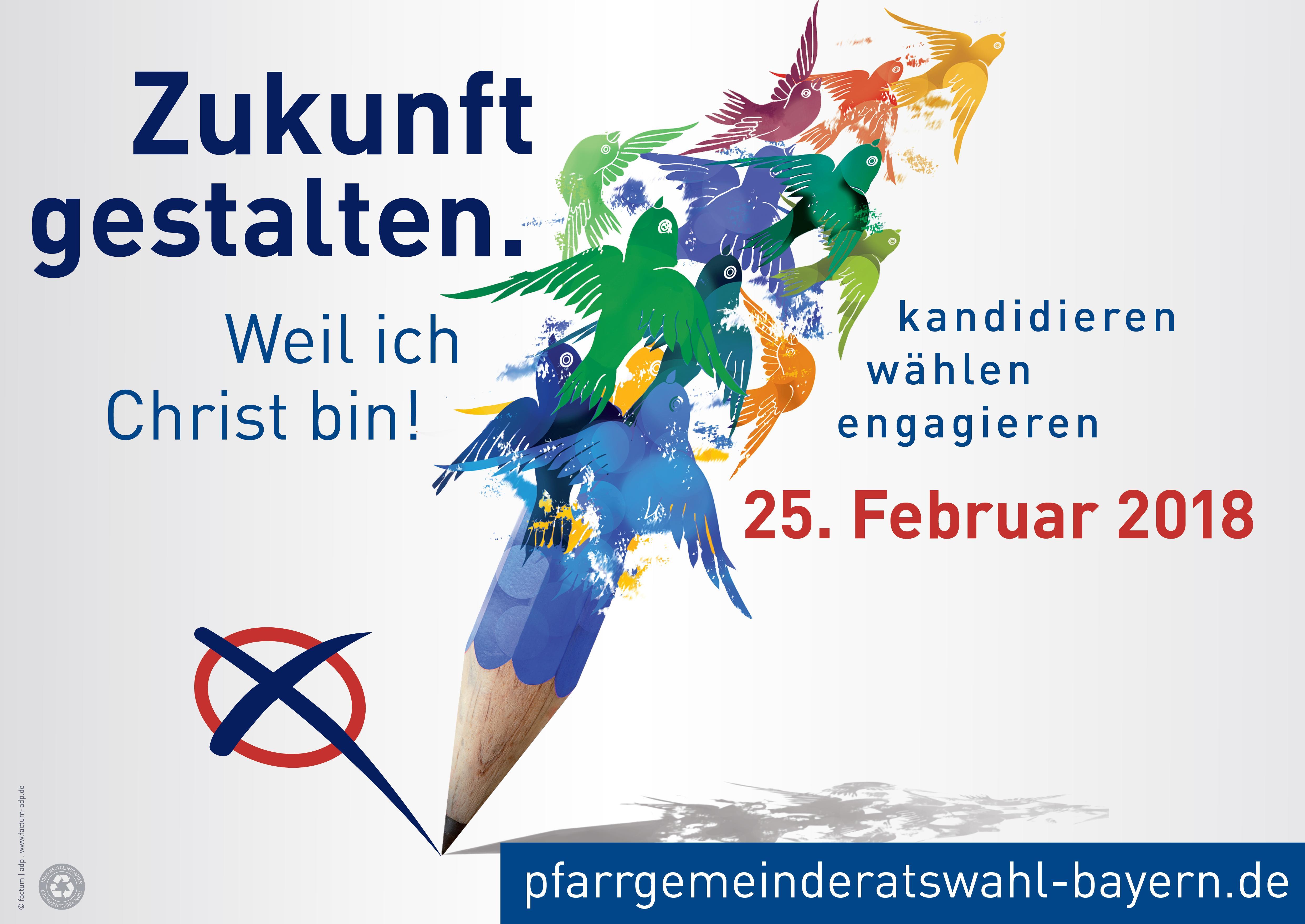 Zukunft gestalten Plakat-quer – Pfarrgemeinde Atting-Rain