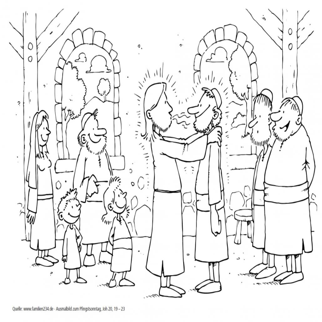 pfingsten für kinder erklärt  pfarrgemeinde attingrain